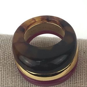 Trina Turk Jewelry - Trina Turk Dome Resin Mulholland Mod Ring